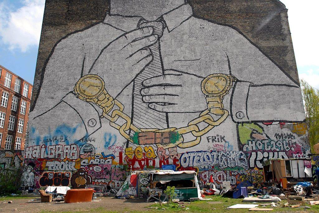berlin graffiti streetart Banksy sztuka ulicy niemcy podróze turystyka