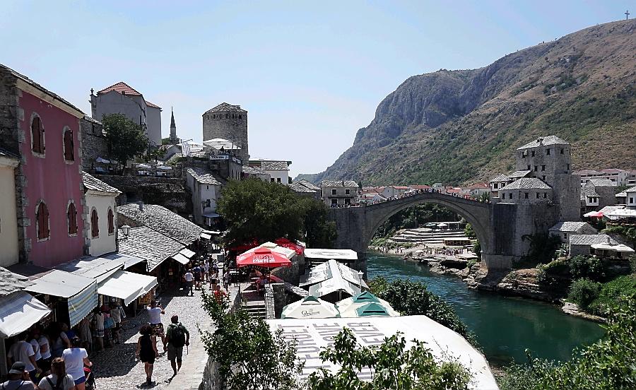 mostar bośnia i hercegowina stary most
