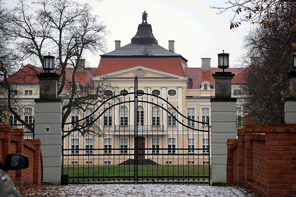 rogalin pałac dęby rogalińskie raczyński