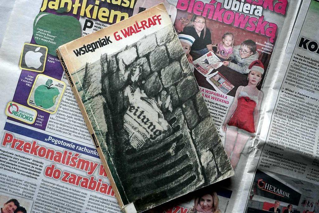 Wstępniak Gunter Walraff brukowce tabloidy prasa brukowa