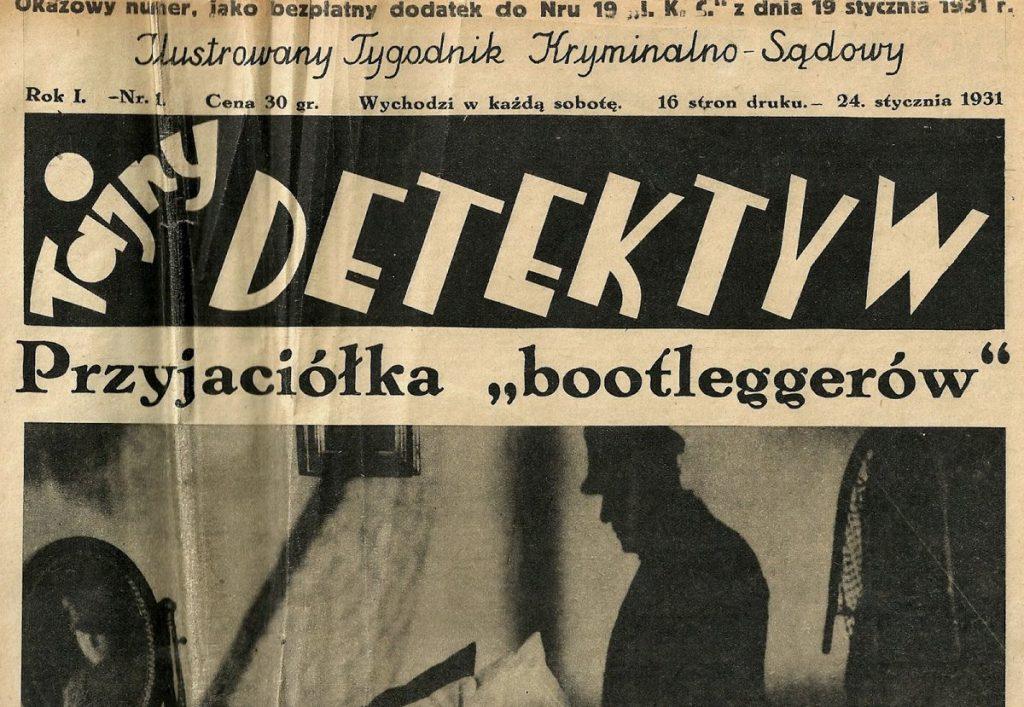 tajny detektyw magazyn kryminalny prsa przedwojenna