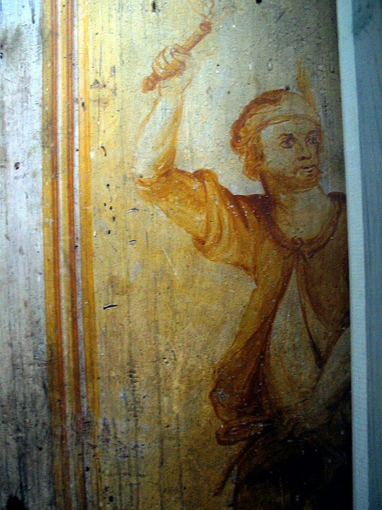 cenne malowidła odkryte podczas renowacji kościoła we Wschowie