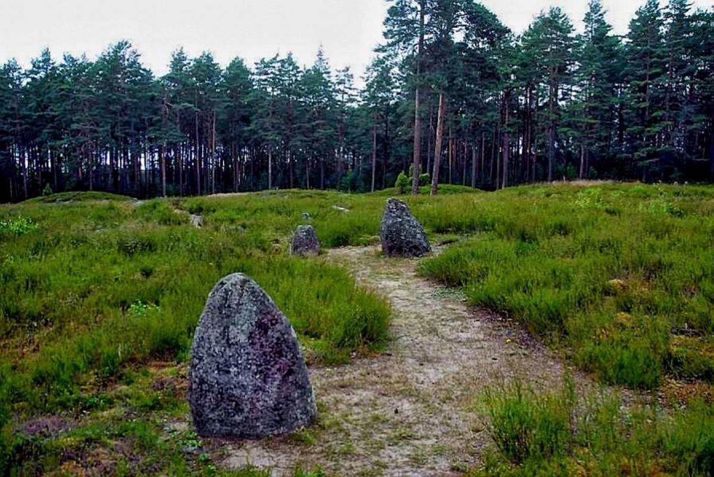 tajemnicze kamienne kręgi w Odrach
