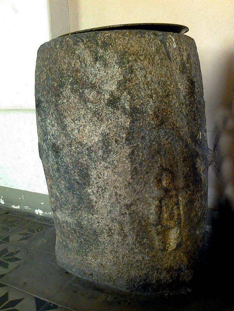 tajemnica kropielnica z kościoła w Górce Klasztornej