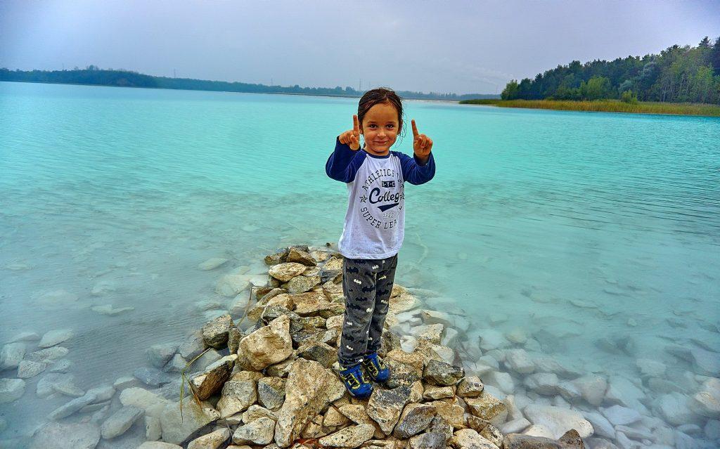 turkusowe jezioro