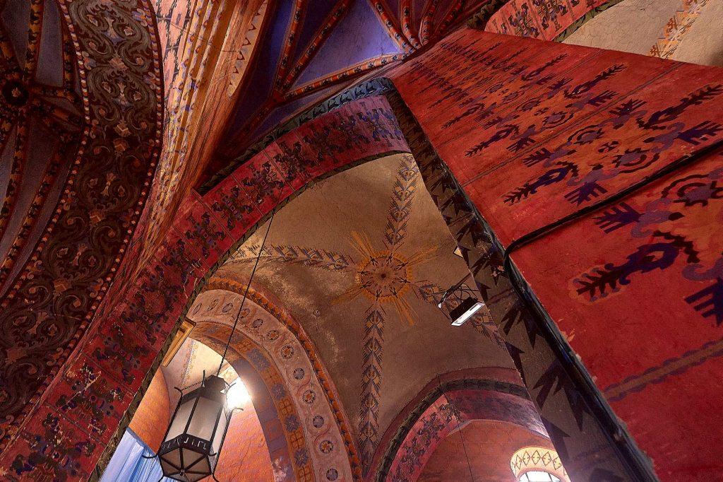 Zabytkowy kościół Lwówek