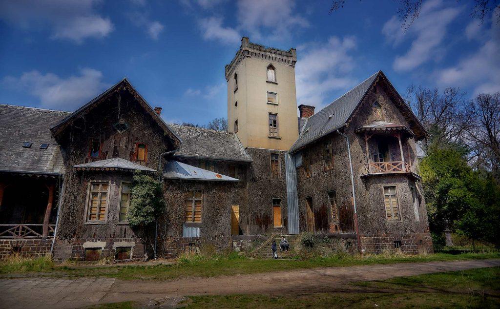 pałac myśliwski w Mojej Woli