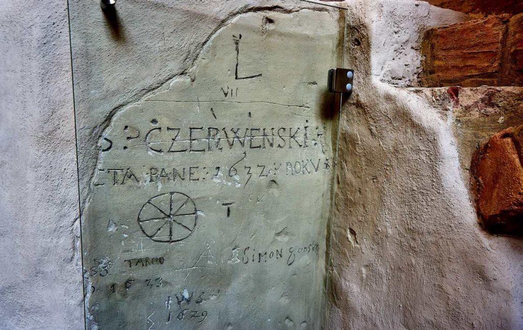 najstarsze graffiti w Polsce