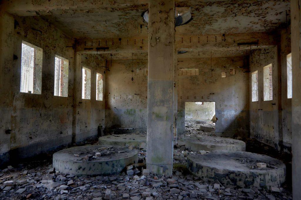 niemiecka fabryka amunicji z czasów wojny